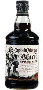 Captain Morgan Rum Black Spiced 1.75l